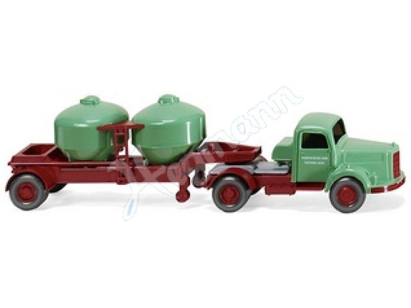 Wiking H0 Mercedes Zement-Transporter !!!