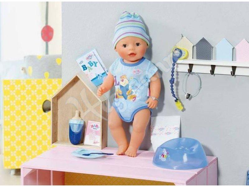 baby born interactive boy zapf baby born puppe mit. Black Bedroom Furniture Sets. Home Design Ideas