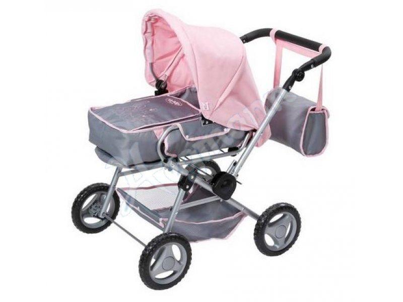 baby born deluxe puppenwagen empfohlen ab 3 jahren f r puppen 40 43 cm zapf creation 821343. Black Bedroom Furniture Sets. Home Design Ideas