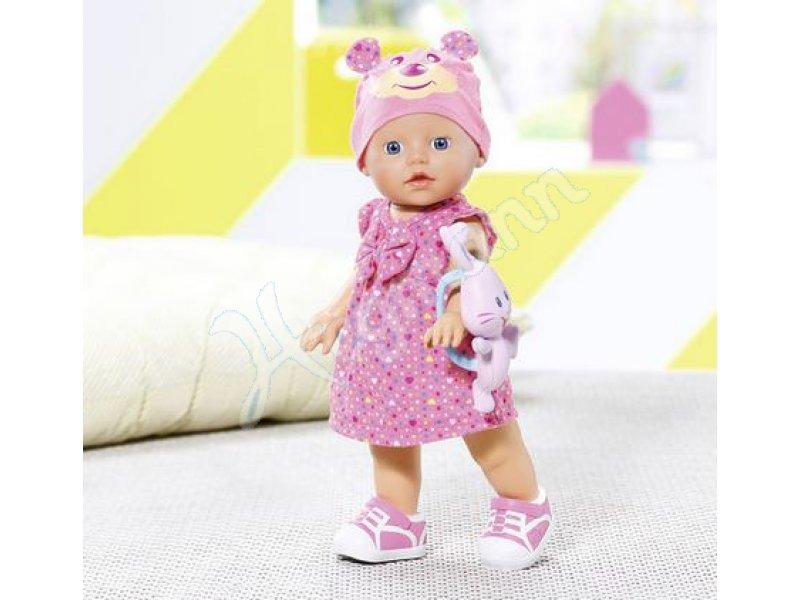 my little baby born walks zapf puppe zapf creation 823484. Black Bedroom Furniture Sets. Home Design Ideas